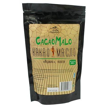 Какао масло Дары Памира Индиана нерафинированное колотое 200г