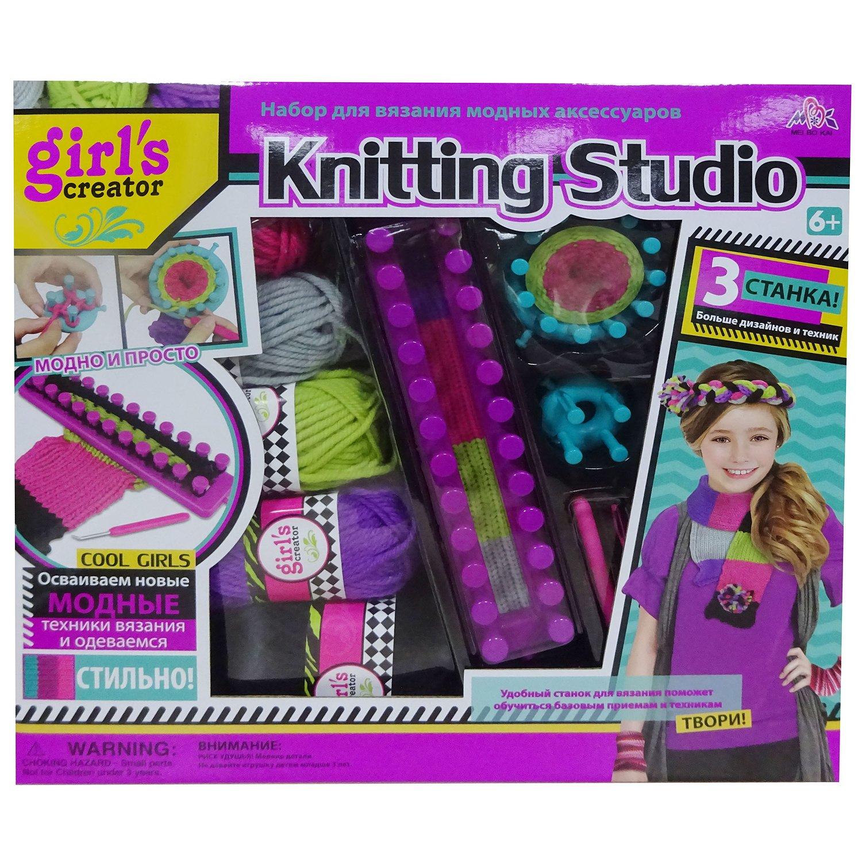 набор Newsun Toys для вязания модных аксессуаров купить в интернет