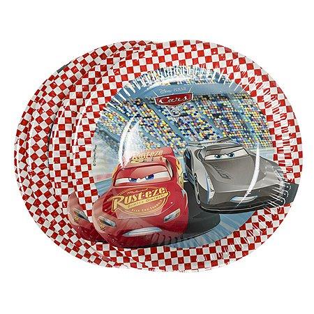 Бумажные тарелки Cars 3 20 см 8 шт