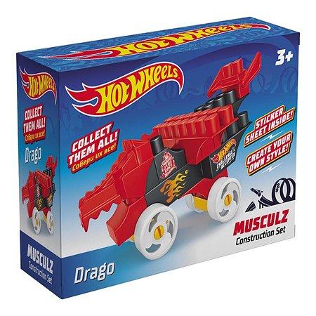 Конструктор Bauer Hot Wheels Musculz Drago 713