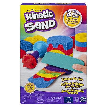 Набор для лепки Kinetic Sand Радуга 6053691