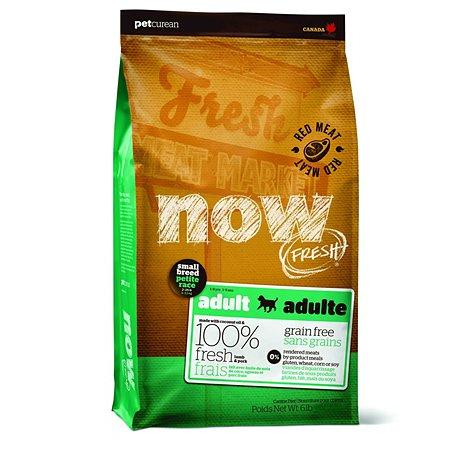 Корм для собак Now Fresh беззерновой с ягненком и овощами сухой 2.72кг