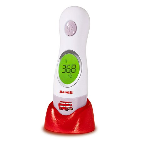 Инфракрасный термометр Ramili ушной и лобный ( 4 в 1)