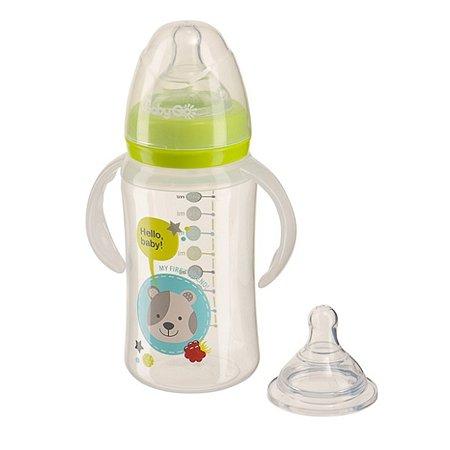 Бутылка Baby Go с широким горлом  270 мл