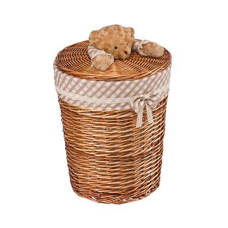 Корзина плетеная Natural House Медвежонок L d45x55H см коричневый