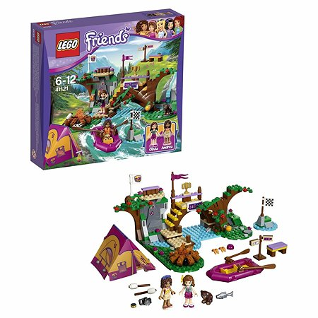 Конструктор LEGO Friends Спортивный лагерь: сплав по реке (41121)