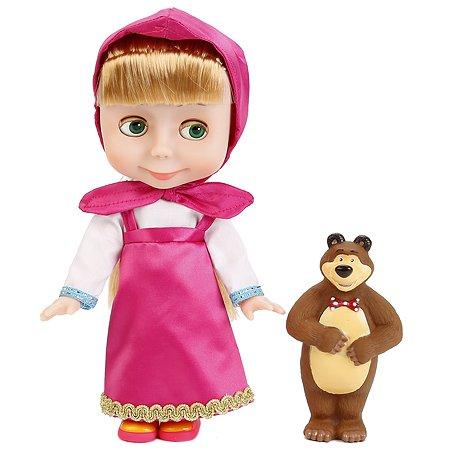 Кукла Карапуз Маша 20см медведь 10 см