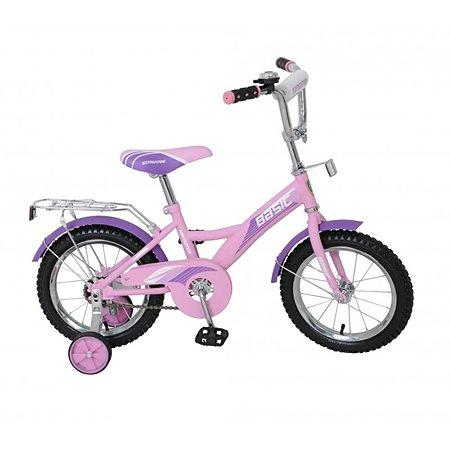 """Велосипед Navigator Basic KITE 14"""" розово-фиолетовый"""