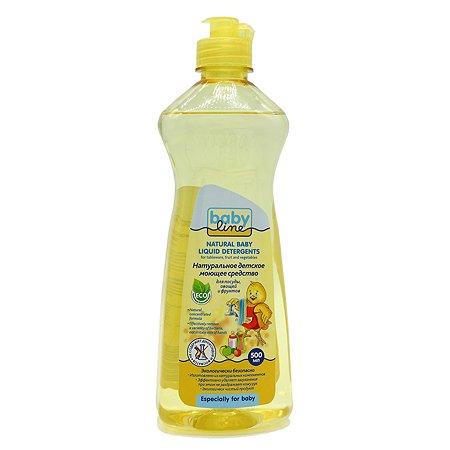 Натуральное моющее средство Babyline для посуды овощей и фруктов 500мл