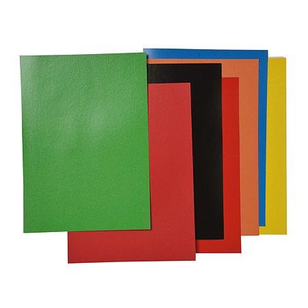 Картон цветной Koh-I-Noor А4 8цв 8л