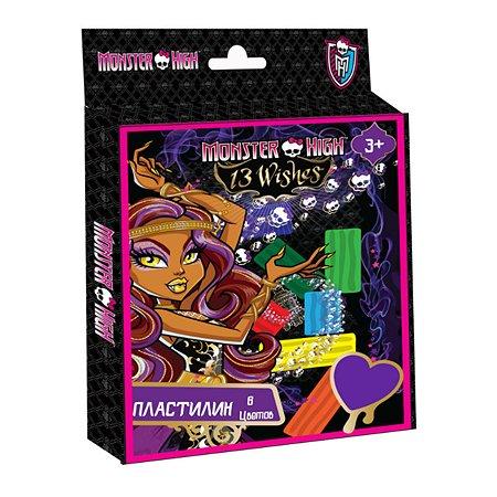 Пластилин Monster High 6 цветов