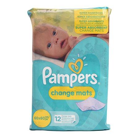 Пеленки Pampers ChangeMats для переодевания 60*60см 12шт