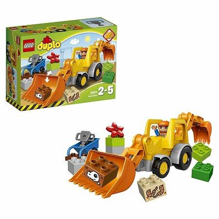 Конструктор LEGO DUPLO Town Экскаватор-погрузчик (10811)