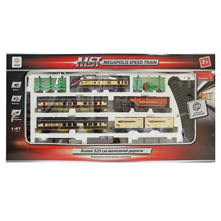 Железная дорога Mobicaro MST свет, звук на батарейках