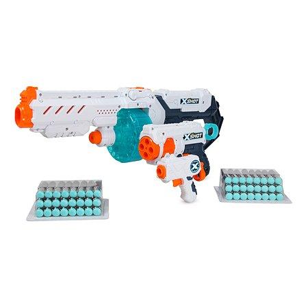 Набор X-SHOT Комбо Турбо огонь +Ярость 4 микро 36345