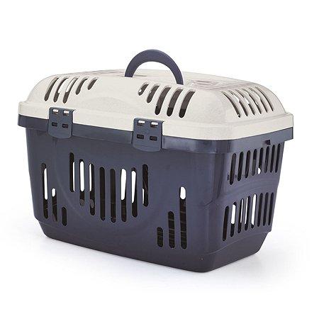 Переноска для животных Lilli Pet Carry on V люкс М Синий 20-6710