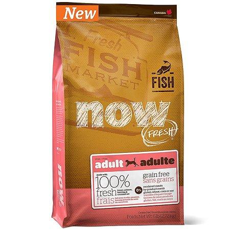 Корм для собак Now Fresh беззерновой с форелью лососем и овощами сухой 2.72кг