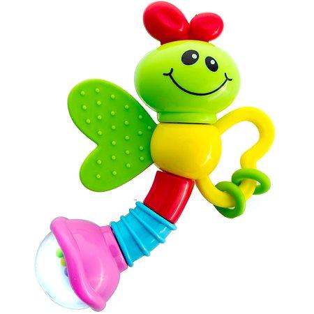 Погремушка ToysLab Веселая бабочка 75004
