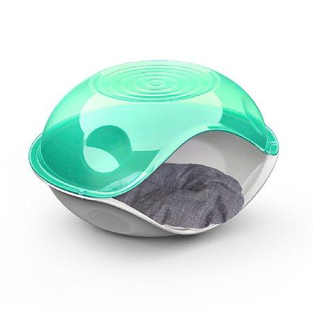 Лежанка для животных Lilli Pet Bed Ufo с подушкой Зеленый 20-6211