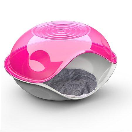 Лежанка для животных Lilli Pet Bed Ufo с подушкой Розовый 20-6211