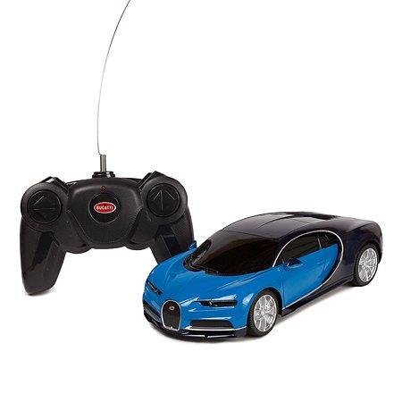 Машинка на радиоуправлении Rastar Bugatti Chiron 1:24 Голубая
