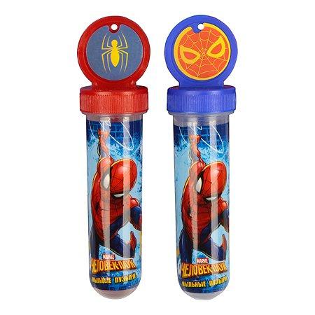 Мыльные пузыри 1TOY Человек паук Disney 30мл в ассортименте Т11532