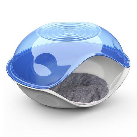 Лежанка для животных Lilli Pet Bed Ufo с подушкой Синий 20-6211