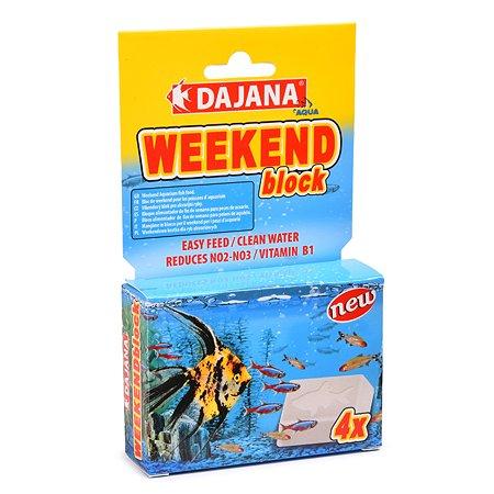 Корм для рыб DAJANA Weekend блок 25г 4шт DP130A