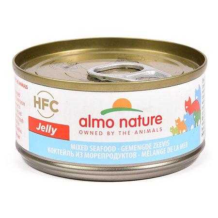 Корм влажный для кошек ALMO NATURE Legend 70г морепродукты консервированный