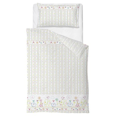 Комплект постельного белья Baby Nice Саванна 4предмета Голубой H19/7BL