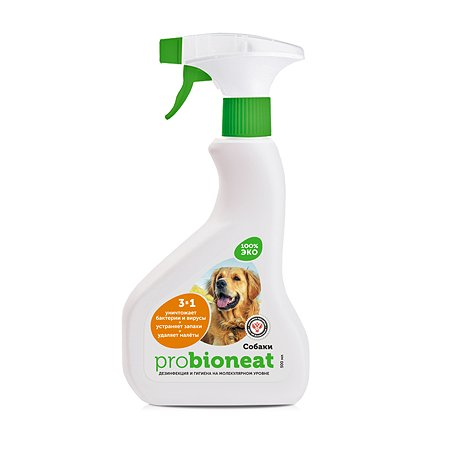 Дезинфицирующее средство Bioneat Для обработки мест содержания собак Ликвидация запаха 500 мл Bioneat