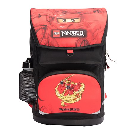Ранец LEGO с сумкой для обуви Ninjago Red