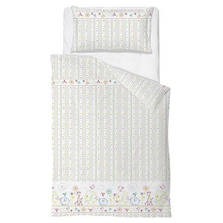Комплект постельного белья Baby Nice Саванна 4предмета Розовый H19/7RO