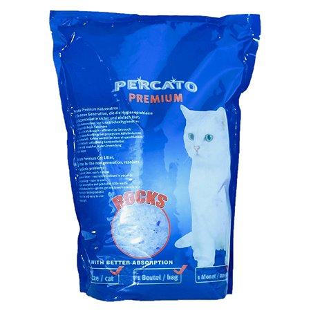 Наполнитель для кошек PERCATO силикагелевый 5л 04-46880
