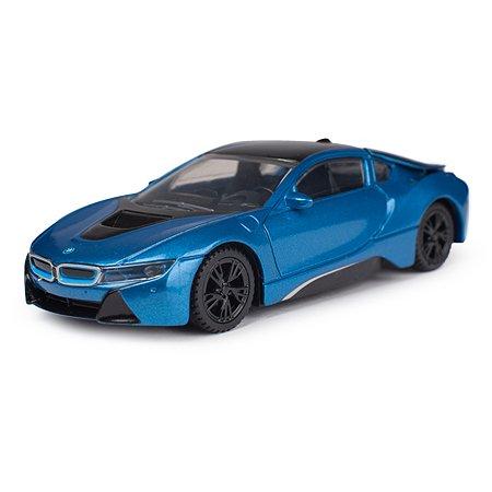 Машина Rastar BMW i8 1:43 Голубая