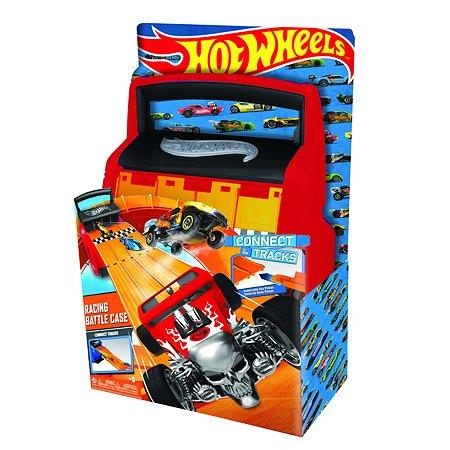 Кейс-автотрек Hot Wheels портативный для хранения гоночных машин HWCC4