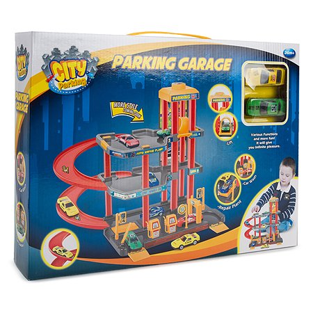 Парковка Dave Toy с 2 машинками