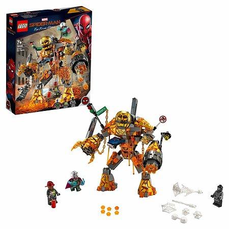 Конструктор LEGO Marvel Super Heroes Бой с расплавленным человеком 76128