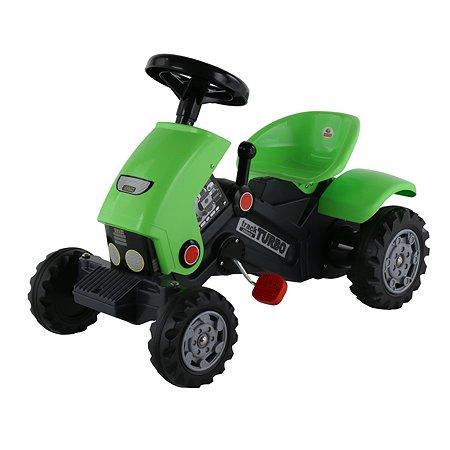 Каталка-трактор с педалями Полесье Turbo-2