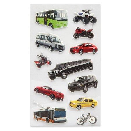 Наклейка декоративная зефирная Липляндия Городской транспорт
