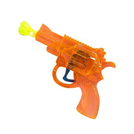 Мыльные пузыри 1TOY пистолет Мы-шарики со свет 50 мл