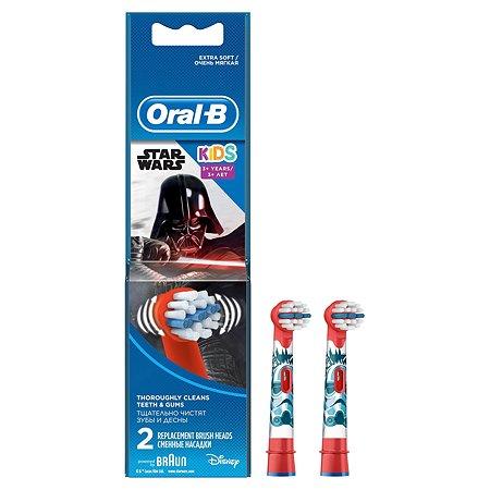 Насадки для эл.зубных щеток Oral-B Stages Power StarWars 2шт в ассортименте