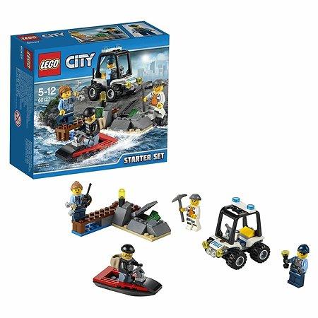 Конструктор LEGO City Police Набор для начинающих «Остров-тюрьма» (60127)