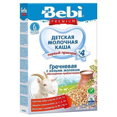 Каша Bebi Premium на козьем молоке гречневая 200г с 4 месяцев