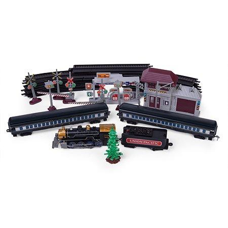 Железная дорога Mobicaro Union Pacific со звуком