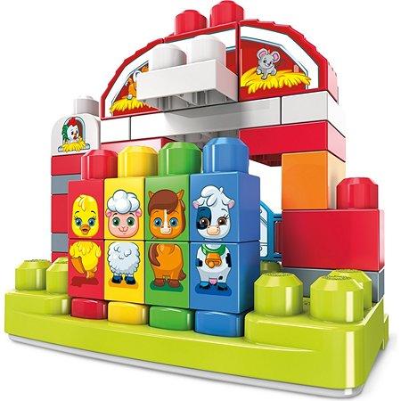 Конструктор Mega Bloks First Builders Музыкальная ферма GCT50