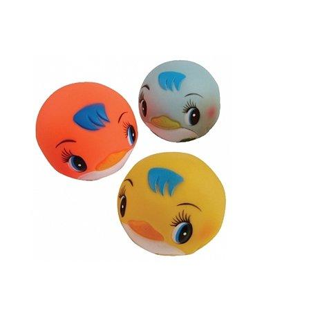 Игрушка для ванной Курносики Мячики-пингвины