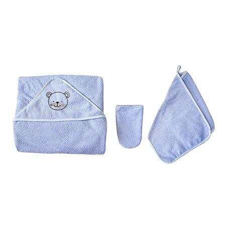 Комплект для купания Baby Nice 3предмета Голубой К32415