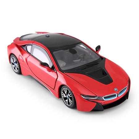 Машина Rastar BMW i8 красный 1:24