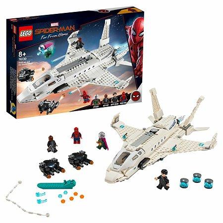 Конструктор LEGO Marvel Super Heroes Реактивный самолёт Старка и атака дрона 76130